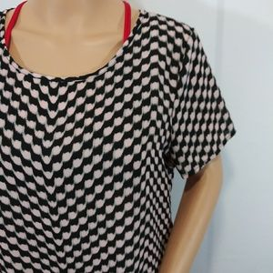 Pleione Tops - Pleione Blouse Short Sleeve Size  Small